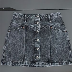 Abercrombie & Fitch Button Up Skirt